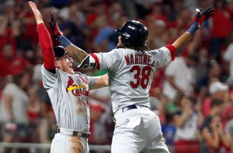 10-run sixth inning helps lift Cards to 12-11 comeback win over Reds