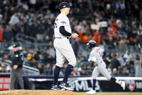 Yankees on brink of elimination after ugly loss to Astros