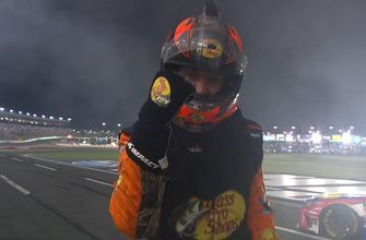 FINAL LAPS: Martin Truex Jr. rallies after early contact with the wall to win the Coca-Cola 600