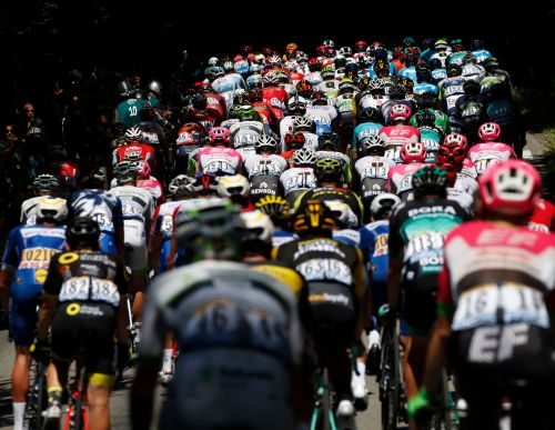 Sagan wins 1st hilly stage of Tour de France in sprint