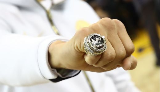 How the Warriors' reversible rings were made
