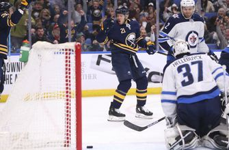 Kyle Okposo scores 2 in Sabres' 2-1 win over Winnipeg Jets