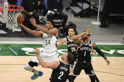 Bucks clinch playoff berth, sweep mini-series with Nets to tighten top of Eastern Conference