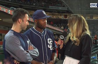 Manuel Margot talks about his big day after the Padres win