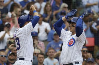 Rizzo leads Cubs past Brewers 8-4