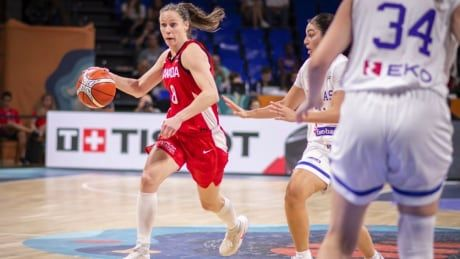 Gaucher leads Canadian rout of Greece to open FIBA Women's World Cup