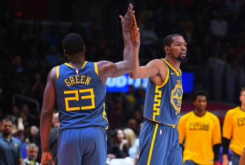 Draymond Green: Warriors Won't 'Crumble Off Of An Argument'