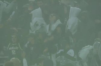 The weather delay in Michigan vs. Michigan State didn't bother these super-hyped fans