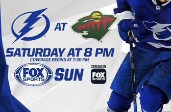 Preview: Lightning feeling good heading into road showdown with Wild