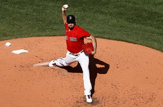 Nathan Eovaldi records eight K's over six innings