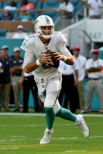 Brock Osweiler to start again for Dolphins vs. Lions with Ryan Tannehill out