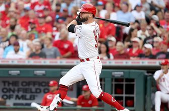 Jesse Winker hits 20th homer, drives in four runs as Reds beat Cardinals, 5-3