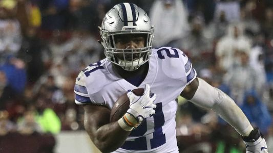 Cowboys RB Ezekiel Elliott fined for initiating contact with helmet against Eagles, report says
