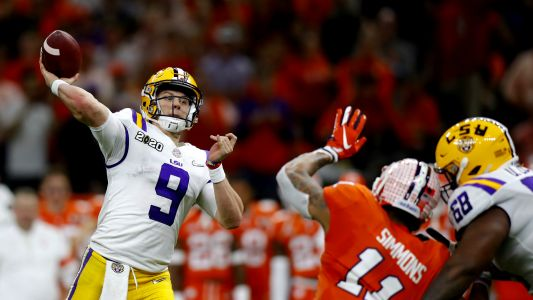 Nine absurd records Joe Burrow set in LSU's College Football Playoff championship season