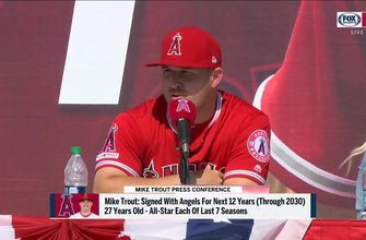 Mike Trout explains loyalty to one team