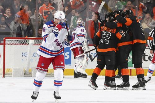 Rangers crushed by Flyers after Chris Kreider gut punch
