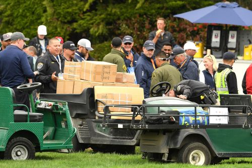 Freak golf cart accident results in five injuries at US Open