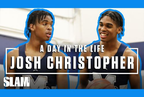Josh Christopher Is the BEST Player in Cali and He Knows It | SLAM Day in the Life