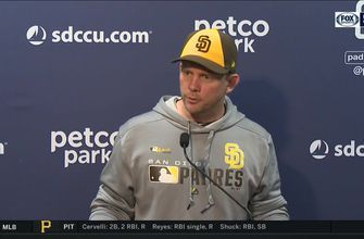 Padres skipper Andy Green on the team's 5th straight defeat