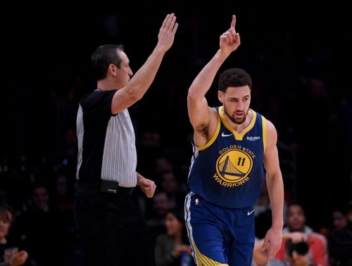 'He Just Got Red Hot, White Hot': Klay Thompson Torches Lakers for 44 Points