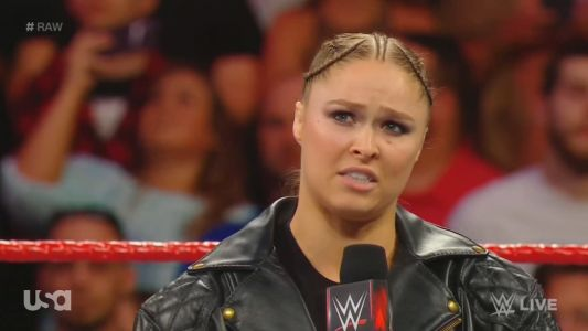 Ronda Rousey opens up WWE 'Raw' with moving tribute to Jim 'The Anvil' Neidhart