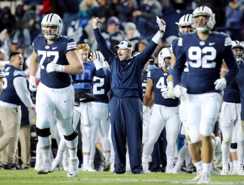 Report: BYU loses offensive line coach Ryan Pugh to Troy's offensive coordinator vacancy