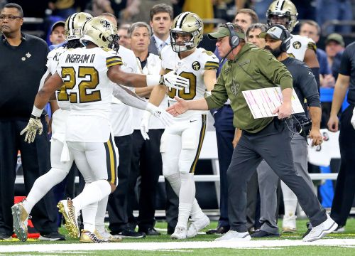 Eagles players react to Saints dancing on sideline during blowout loss