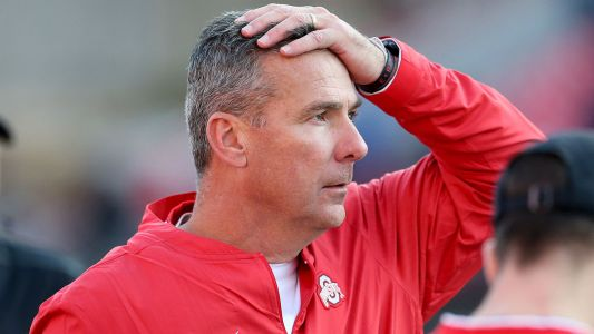 Urban Meyer visibly battles pain as Ohio State escapes with overtime win against Maryland