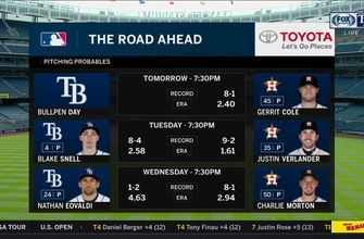 Rays' road doesn't get any easier as Astros await