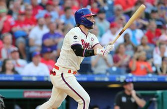 Realmuto and Harper homer in the 6th inning to lead Phillies past Rockies