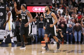 Aldridge, DeRozan help Spurs extend Warriors' skid, 104-92