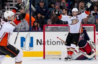 Blue Jackets strike first but fall to Ducks in OT, 2-1