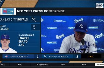 Yost on Keller's outing: 'He did an awesome job'