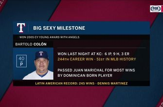 Jose Mota gives his take on Bartolo Colon becoming winningest Dominican pitcher