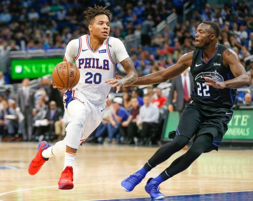 Philadelphia 76ers guard Markelle Fultz not playing, practicing until he sees a shoulder specialist