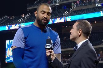 Matt Kemp on his Pinch Hit Grand Slam