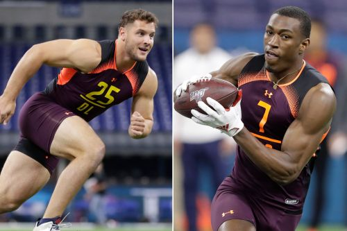 Jets 7-round mock draft: Nick Bosa, Hakeem Butler fall into their lap