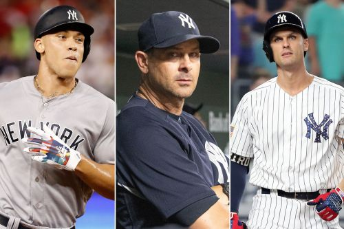 Yankees midseason report card: All these As, yet something's off