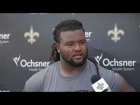 Saints rookie Taylor Stallworth shows what he's been cooking up