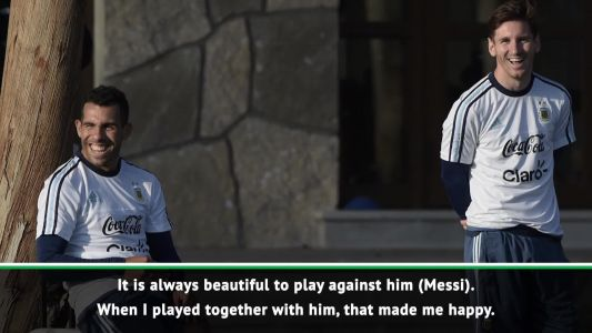 Tevez excited for Messi reunion