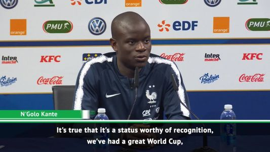 France keen to dominate for a long time - Kante and Hernandez on the search for consistency
