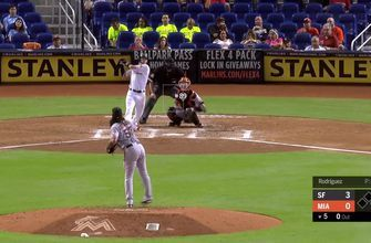 WATCH: JT Riddle launches a laser of a solo HR to center