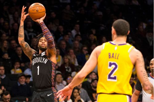Russell gets revenge as red-hot Nets stun LeBron, Lakers