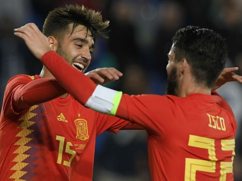 Mendez helps Spain ease past Bosnia-Herzegovina