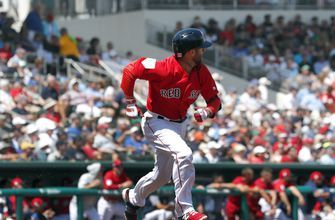 Red Sox wait on Pearce injury; Pedroia to play Tuesday
