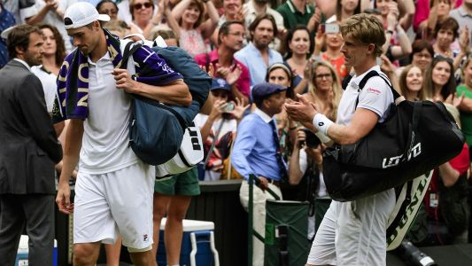 Anderson's incredible act of 'pure class' after Wimbledon epic