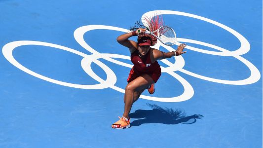 Naomi Osaka returns to tennis with dominant victory in Olympic opener