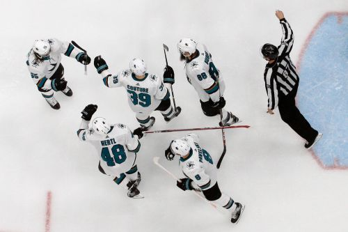Sharks, Blues confident, and even, heading into Game 5