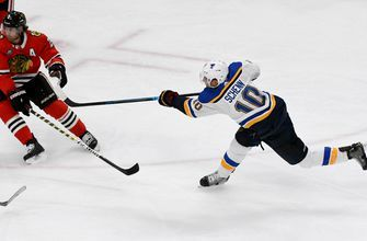 Blues fall in overtime to Blackhawks once again, 4-3