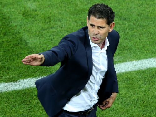 Hierro steps down as Spain boss after World Cup flop